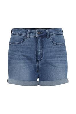 jeans short medium blue ichi
